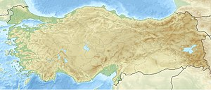 Karabel relief is located in Turkey
