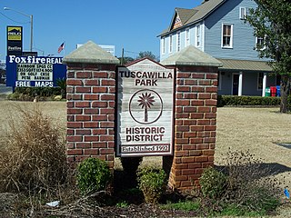 Tuscawilla Park Historic District United States historic place