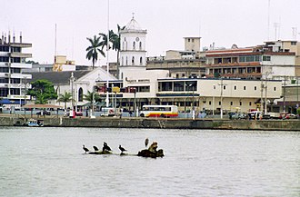 Tuxpan - Tuxpan from the river