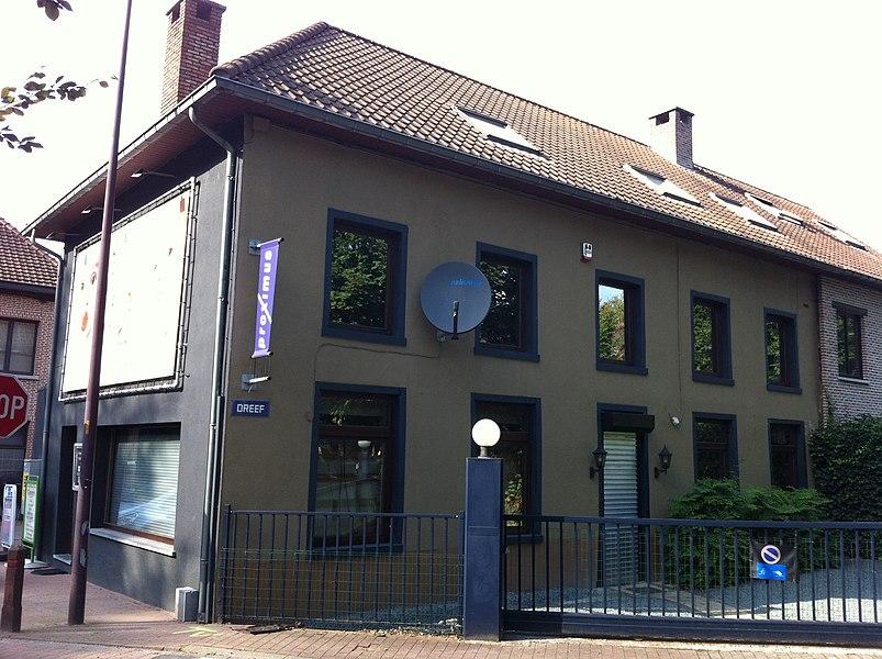 Tweeverdiepingshuis, Dreef 25-27, Ternat