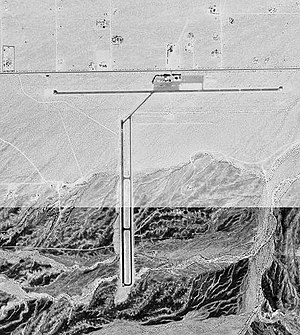 Twentynine Palms Airport - USGS aerial image, 3 October 1995