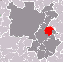 Location of Tymákov