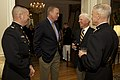 U.S. Marine Corps Gen. James F. Amos, right, the commandant of the Marine Corps, speaks with retired Marine Gen. James L. Jones, a former commandant of the Marine Corps, center left, and other guests during 130503-M-LU710-141.jpg