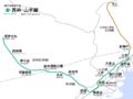 ULine Seishin-YamateLine Map.png