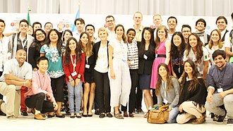 United Nations Major Group for Children and Youth - Members of the UN MGCY at the Global Platform for Disaster Risk Reduction 2017.