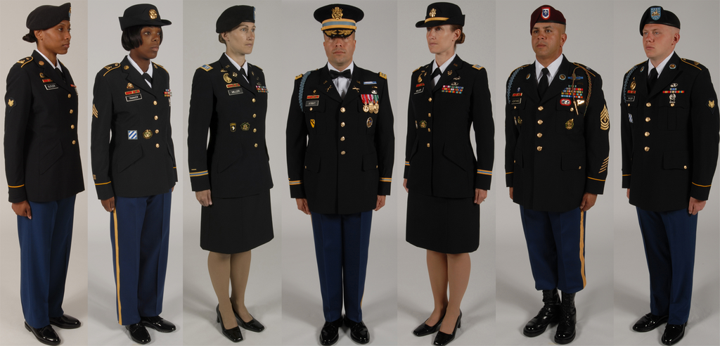 Which Branch Of The Us Military Has The Best Looking Blue Dress