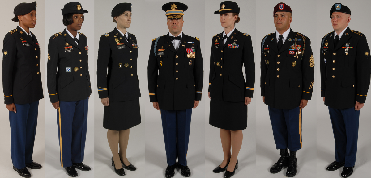 Army Service Blue Uniform 120
