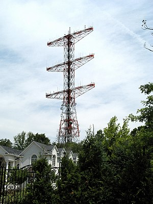 Alpine, New Jersey - Armstrong Tower, Alpine