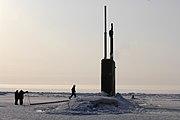USS Alexandria (SSN 757) ice