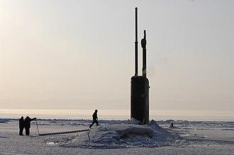 Stargate: Continuum - Image: USS Alexandria (SSN 757) ice