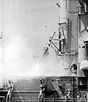 USS Columbus (CG-12) launches a RUR-5 ASROC, in 1972.jpg