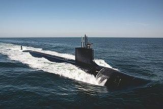 USS <i>Delaware</i> (SSN-791) US Navy Virginia-class submarine