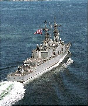 Spruance-class destroyer - Image: USS Fife;0599115