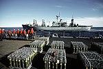 USS Nitro (AE-23) off USS Iowa (BB-61) 1986.jpg