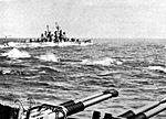 USS Topeka (CL-67) during shakedown cruise 1945.jpg