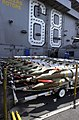 US Navy 030414-N-2385R-003 Ordnance is inspected prior to being loaded onto aircraft.jpg