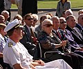 US Navy 061024-N-1226D-015 During a ceremony at the Coronado Public Library, Sybil Stockdale, widow of retired Vice Adm. James Bond Stockdale, listens to a speech as they commemorate the services and sacrifices of Adm. Stockdal.jpg