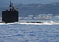 US Navy 070522-N-0780F-001 Los Angeles-class attack submarine USS San Juan (SSN 751) arrives for a routine port visit.jpg