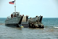 US Navy 080607-N-8848T-127 Landing Craft Mechanized 501 (LCM-501) and the.jpg