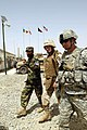 US Navy 080815-N-8273J-301 Chief of Naval Operations (CNO) Adm. Gary Roughead, middle, tours a Provincial Reconstruction Team (PRT) site with other U.S. and Afghanistan leadership.jpg