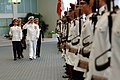 US Navy 080818-N-8273J-130 Chief of Naval Operations (CNO) Adm. Gary Roughead inspects the troops of the Republic of Singapore Navy.jpg