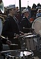US Navy 111105-N-MZ309-081 Sailors assigned to Navy Band Northwest perform during a Veteran's Day parade.jpg