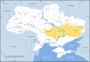 Zaporizhia (region) - Image: Ukraine Zaporozzhya