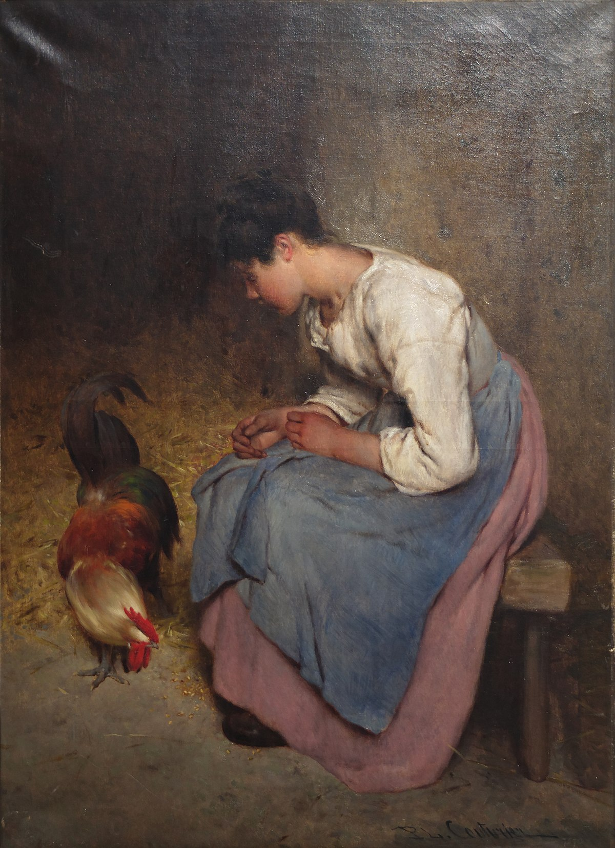 Philibert l on couturier wikip dia for Artiste peintre poitiers