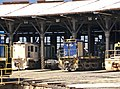 Unidentified 48 class and 48113 undergoing refurbishment at the JR.jpg