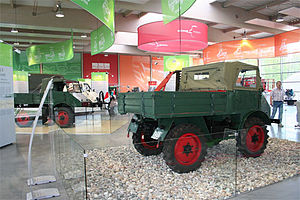 Bad Rotenfels - A display in the Unimog Museum, Rotenfels