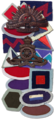 Unit patches and cap badges of Sparrow Force.png