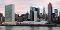 United Nations Headquarters in New York City, view from Roosevelt Island.jpg