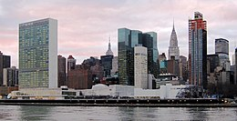 Hauptsitz der Vereinten Nationen in New York City