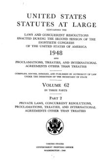 United States Statutes at Large Volume 62 Part 2.djvu