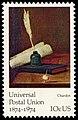 Universal Postal Union Jean-Baptiste Chardin 10c 1974 issue U.S. stamp.jpg