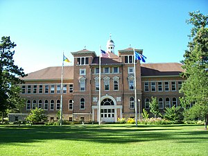 University of Wisconsin–Stevens Point - Old Main is the current Administration Building