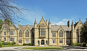 Bradford University School of Management - Image: University of Bradford school of management
