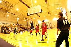 Worcester Wolves - St. John's Sports Centre at the University of Worcester, home of Worcester Wolves until 2013.