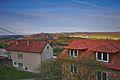 Výhled na východ z obce, konkrétně na Újezd u Boskovic, Obora, okres Blansko.jpg