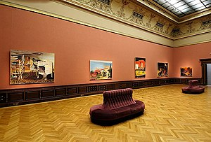 """Dick Rauch - Image: Výstava """"Neo Rauch Neue Rollen"""" (Galerie Rudolfinum, 2007)"""