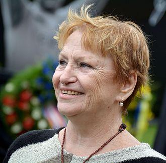 Věra Čáslavská - Čáslavská in 2015