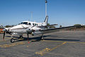 VH-SQH Beechcraft C90 King Air Aviation Australia (7107071863).jpg