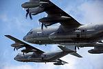VMGR-252 soars through skies in rare division flight 150901-M-AI083-737.jpg