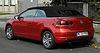 VW Golf Cabriolet (VI) – Heckansicht, 10. September 2011, Hilden.jpg
