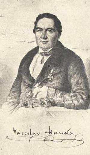 Václav Hanka - Váceslav Hanka