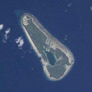Vaitupu Atoll in Tuvalu