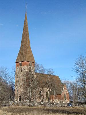 Vaksala Church - Vaksala Church, external view