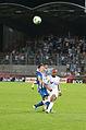 Valais Cup 2013 - OM-FC Porto 13-07-2013 - Herrera et André Ayew 1.jpg