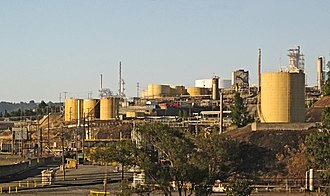 Benicia, California - Valero oil refinery