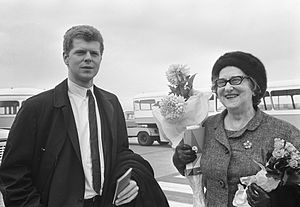 Van Cliburn - With his mother in the Netherlands in 1966